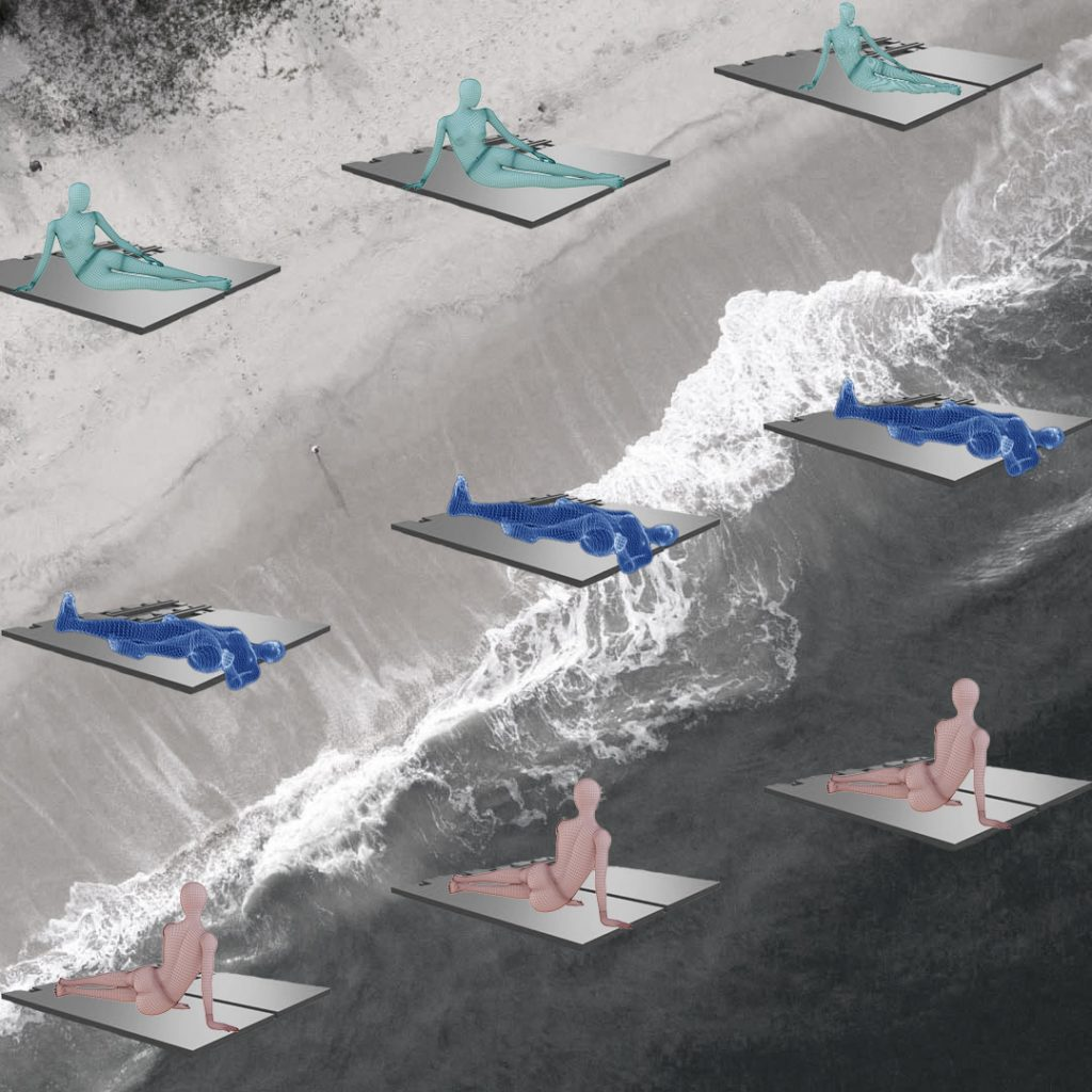 Beach modular Lelis, Ziemane, Dintere